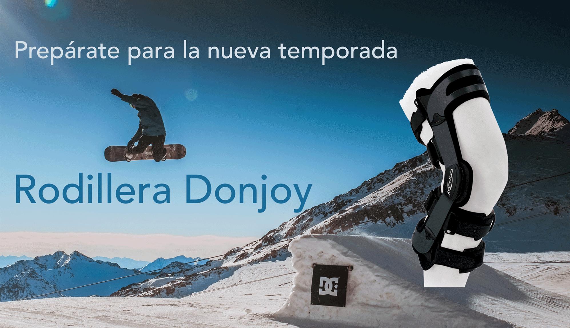 Rodillera Donjoy